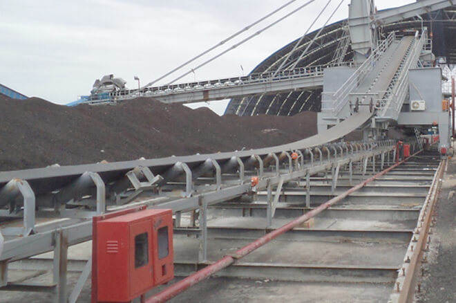 belt conveyor for coal