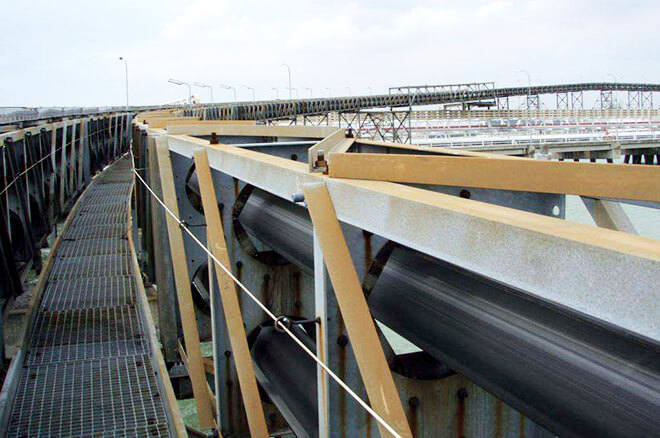 pipe conveyor for cement