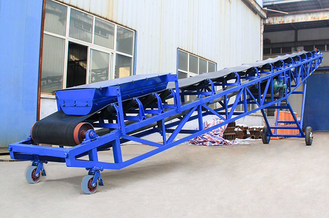 Moveable Belt Conveyor