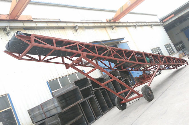 Mobile Conveyor, Portable Belt Conveyor, Moveable Belt Conveyor