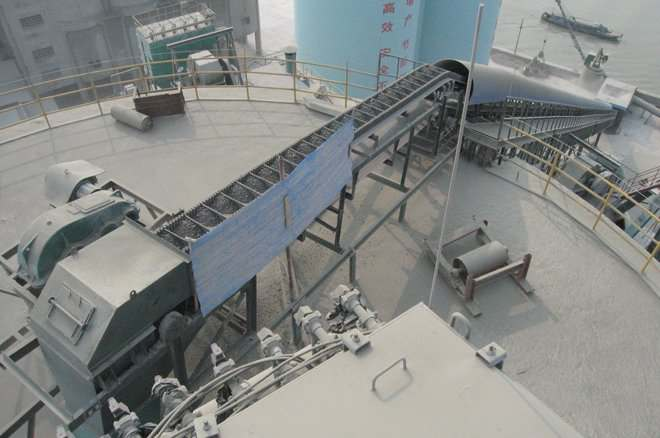 Steep Inclined Belt Conveyors