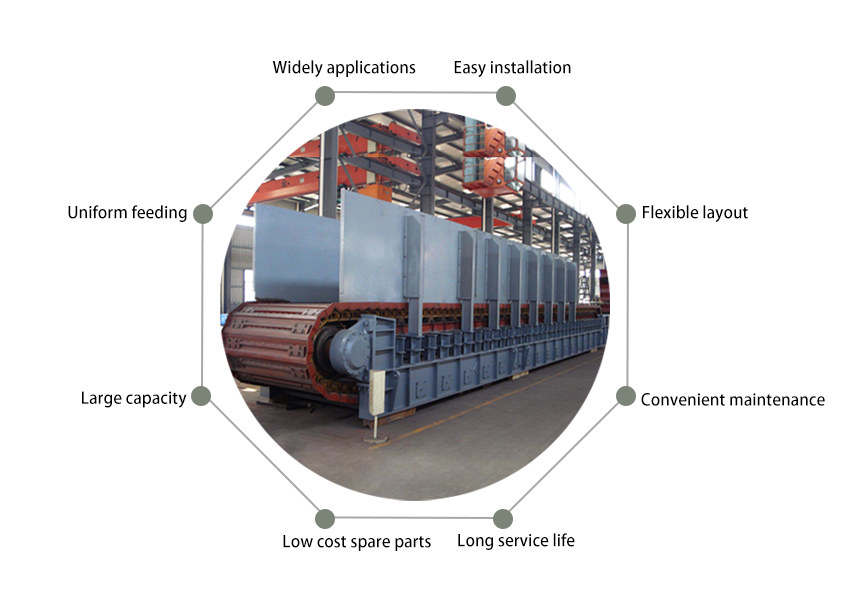 apron feeder advantages