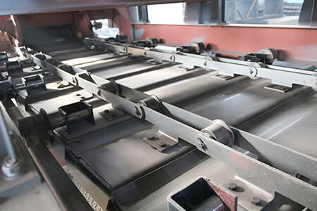 apron feeder chain