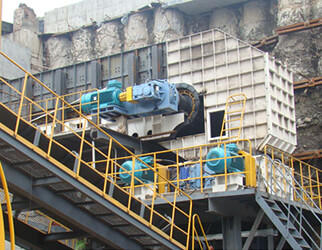 apron feeder for coal