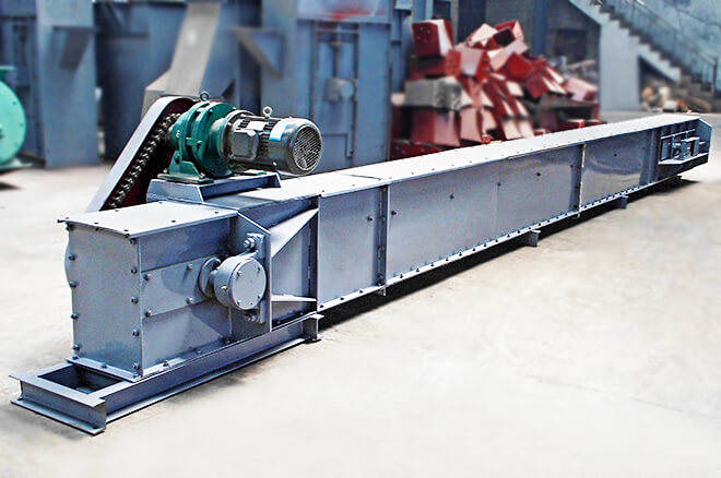 Trough Chain Conveyor, Drag Chain Conveyors, En-masse Chain Conveyor