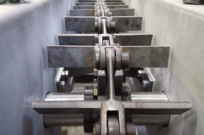 En-Masse Scraper Conveyor