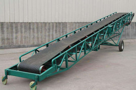 The reform of save electricity in portable belt conveyor