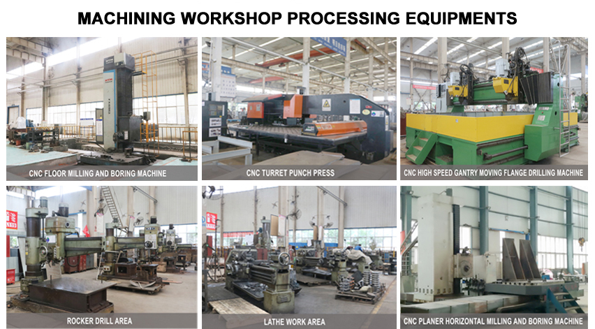 machining workshop processing equipments
