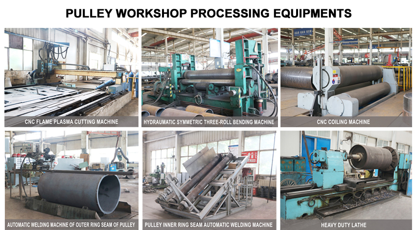 Pully Workshop Processing Equipments