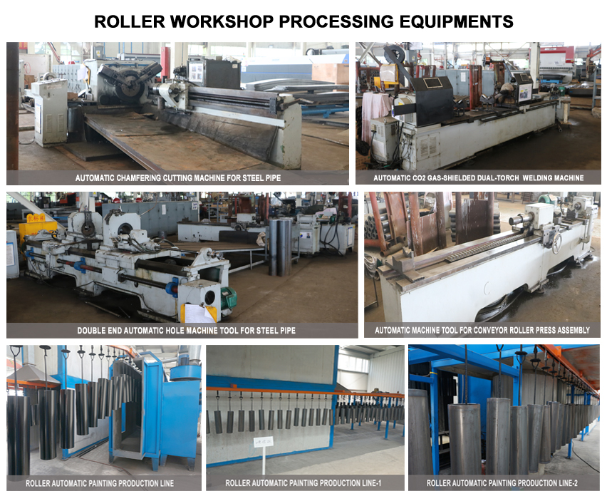 roller workshop processing equipments