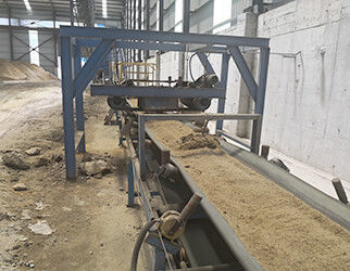 belt sway switch used for belt conveyor in sand plant