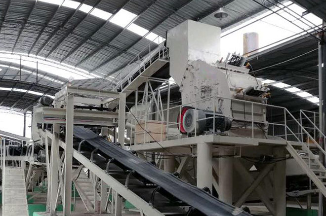Construction Demolition Recycling System