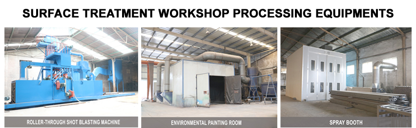 surface treatment workshop processing equipments